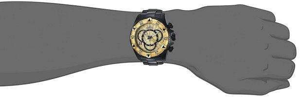 インヴィクタインビクタ腕時計メンズInvictaMen's'Excursion'QuartzTwo-ToneandStainlessSteelCasualWatch,ColorBlack(Model:24267)インヴィクタインビクタ腕時計メンズ