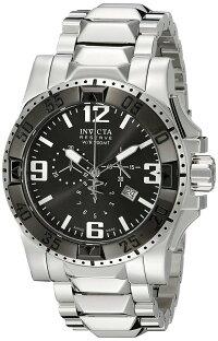 インヴィクタインビクタ腕時計メンズInvictaMen's80608ExcursionAnalogDisplaySwissQuartzSilverWatchインヴィクタインビクタ腕時計メンズ