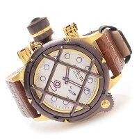 インヴィクタインビクタ腕時計メンズInvictaMen's16194RussianDiverNautilusSwissMechanicalBrownLeatherStrapWatchインヴィクタインビクタ腕時計メンズ