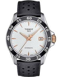 ティソ腕時計メンズTissotMen'sV8Swissmatic-T1064072603100Silver/BlackOneSizeティソ腕時計メンズ