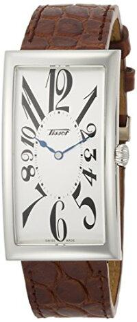 ティソ腕時計メンズTissotHeritageSilverDialMensLeatherWatchT117.509.16.032.00ティソ腕時計メンズ