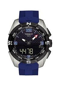ティソ腕時計メンズTissotT-TouchExpertMensAnalog-DigitalRubberWatchT091.420.47.057.02ティソ腕時計メンズ