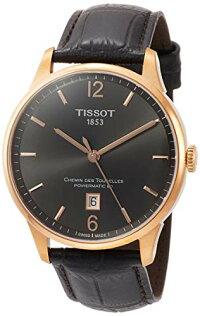 ティソ腕時計メンズTissotChemindesTourellesPowermatic80RoseGoldBrownLeather42mmT099.407.36.447.00ティソ腕時計メンズ