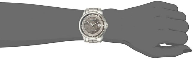 ティソ腕時計メンズTissotMen's'SwissAutomaticStainlessSteelDressWatch,Color:Silver-Toned(Model:T0864071106110)ティソ腕時計メンズ