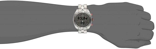 ティソ腕時計メンズTissotMen's'PRS330'AnthraciteDialStainlessSteelChronographWatchT076.417.11.067.00ティソ腕時計メンズ