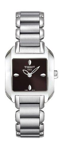 ティソ 腕時計 レディース Tissot T-Wave Brown Dial Women's Watch T02128561 Women's Watchティソ 腕時計 レディース