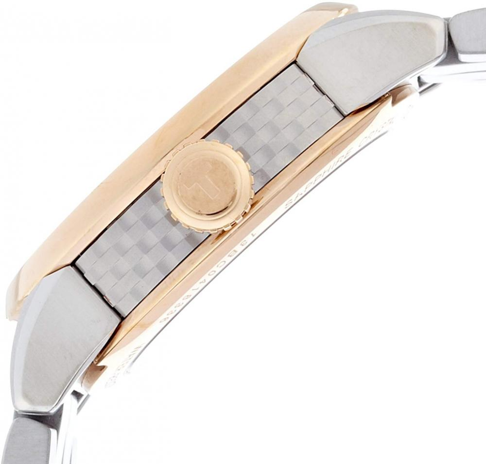 ティソ 腕時計 レディース Tissot Lady Luxury Automatic Ivory Dial Two-Tone Stainless Steel Ladies Watch T0862072226101ティソ 腕時計 レディース