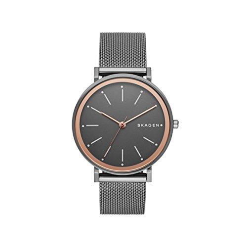 スカーゲン 腕時計 レディース Skagen SKW2507 Hald Grey Dial Gunmetal PVD Ladies Watchスカーゲン 腕時計 レディース