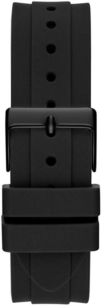 ゲス GUESS 腕時計 メンズ GUESS Stainless Steel Touchscreen Watch with Silicone Strap, Black, 20 (Model: C1002M1)ゲス GUESS 腕時計 メンズ