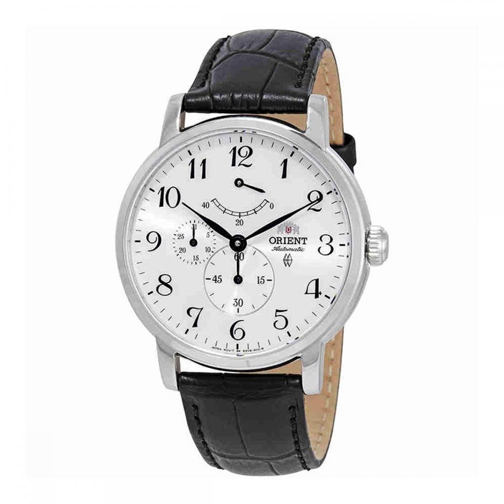 オリエント 腕時計 メンズ Orient Power Reserve Automatic White Dial Mens Watch FEZ09005W0オリエント 腕時計 メンズ