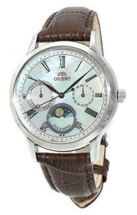 オリエント腕時計レディースOrientSunandMoonWhiteDialLadiesWatchRA-KA0005A10Bオリエント腕時計レディース