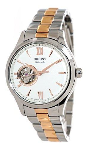オリエント 腕時計 レディース Orient Ladies Automatic Open Heart 2 Tone Rose Gold Steel Watch RA-AG0020Sオリエント 腕時計 レディース