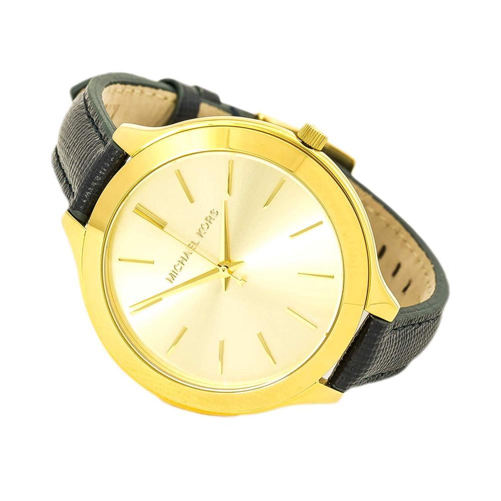 マイケルコース 腕時計 レディース マイケル・コース アメリカ直輸入 Michael Kors Mid-Size Runway Gold-Tone Dial Blue Leather Ladies Watch MK2285マイケルコース 腕時計 レディース マイケル・コース アメリカ直輸入