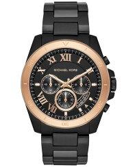 マイケルコース腕時計メンズマイケル・コースアメリカ直輸入MichaelKorsMen'sBreckenChronographBlackStainlessSteelWatchMK8583マイケルコース腕時計メンズマイケル・コースアメリカ直輸入