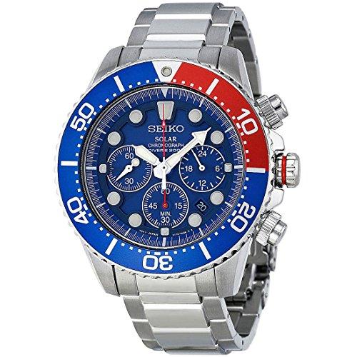 セイコー 腕時計 メンズ 夏のボーナス特集 SSC019 Seiko Men's SSC019 Solar Diver Chronograph Watchセイコー 腕時計 メンズ 夏のボーナス特集 SSC019