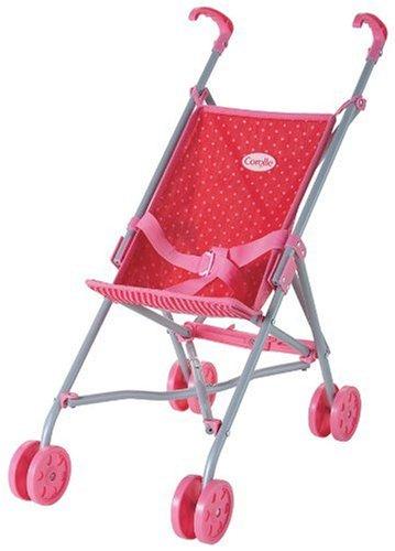 コロール 赤ちゃん 人形 ベビー人形 M2248 Corolle Les Classiques Doll Accessories (Red/Fuchsia Umbrella Stroller)コロール 赤ちゃん 人形 ベビー人形 M2248