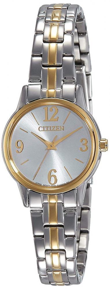 シチズン 逆輸入 海外モデル 海外限定 アメリカ直輸入 Citizen Women's Classic Quartz EX0294-58H Two-Tone Stainless-Steel Quartz Watch with White Dialシチズン 逆輸入 海外モデル 海外限定 アメリカ直輸入