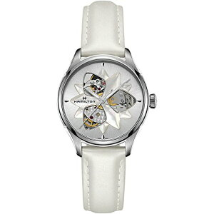 Hamilton Watch Ladies [Free Shipping] Hamilton Women's Jazzmaster Open Heart Lady-H32115991 White One Size Hamilton Watch Ladies