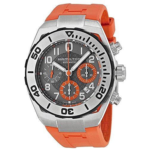 ハミルトン 腕時計 メンズ Hamilton Khaki Navy Sub Automatic Chronograph Mens Watch H78716983ハミルトン 腕時計 メンズ