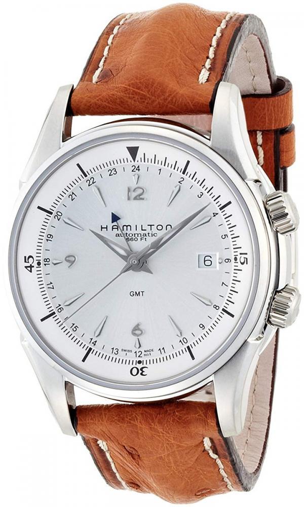 ハミルトン 腕時計 メンズ Hamilton American Classic JazzMaster Traveler GMT 2 Mens Watchハミルトン 腕時計 メンズ