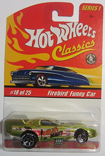 乗り物のおもちゃ, その他  Firebird Funny Car Hot Wheels Classics Series 1 - Antifreeze 18 of 25