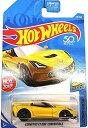 ホットウィール マテル ミニカー ホットウイール Hot Wheels 2018 50th Anniversary Factory Fresh Corvette C7 Z06 Convertible 98/365, Yellowホットウィール マテル ミニカー ホットウイール