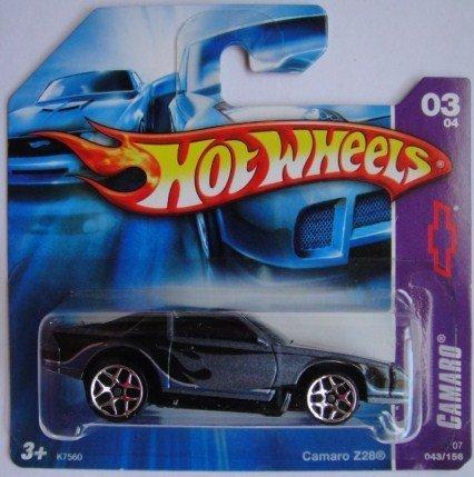 乗り物のおもちゃ, その他  HOT WHEELS SHORT CARD CAMARO Z28 43156