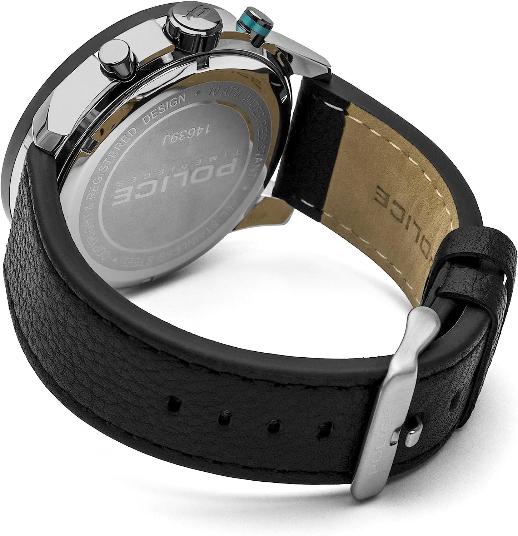 ポリス 腕時計 メンズ POLICE Men Watch Cyclone Chronograph black P14639JSTU-04ポリス 腕時計 メンズ