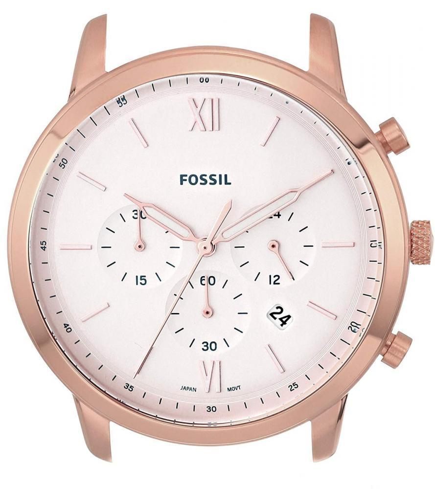 フォッシル 腕時計 メンズ Fossil Men's ' Neutra Chrono Quartz Stainless Steel Casual Watch, Color:White (Model: C221047フォッシル 腕時計 メンズ