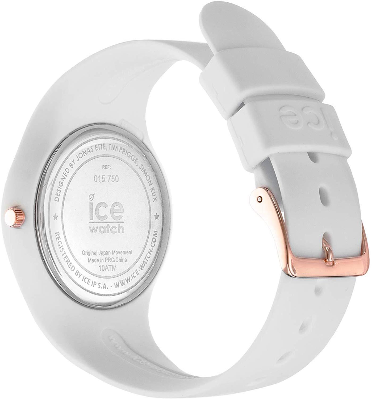 アイスウォッチ 腕時計 レディース かわいい Ice-Watch ICE Sunset California White Silicone Strap Medium Womens Watch 015750アイスウォッチ 腕時計 レディース かわいい