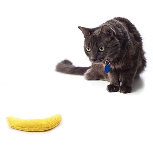 猫おもちゃ ネコ ねこ 病みつき 猫まっしぐら 1050011639 OurPets 100-Percent North American Catnip Filled Banana Cat Toy A Peeling猫おもちゃ ネコ ねこ 病みつき 猫まっしぐら 1050011639