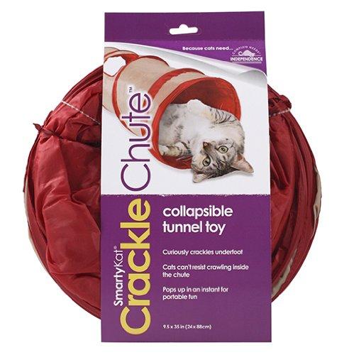 猫おもちゃ ネコ ねこ 病みつき 猫まっしぐら 09939 SmartyKat Crackle Chute Collapsible Cat and Dog Tunnel猫おもちゃ ネコ ねこ 病みつき 猫まっしぐら 09939