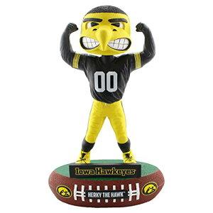 ボブルヘッド バブルヘッド 首振り人形 ボビンヘッド BOBBLEHEAD FOCO NCAA Iowa Hawkeyes Mascot Baller Bobble, Team Color, OSボブルヘッド バブルヘッド 首振り人形 ボビンヘッド BOBBLEHEAD