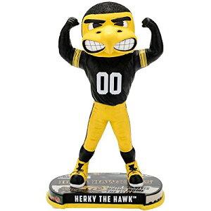 ボブルヘッド バブルヘッド 首振り人形 ボビンヘッド BOBBLEHEAD Forever Collectibles Iowa Hawkeyes Mascot Iowa Hawkeyes Headline Special Edition Bobbleheadボブルヘッド バブルヘッド 首振り人形 ボビンヘッド BOBBLEHEAD