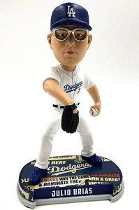 ボブルヘッド バブルヘッド 首振り人形 ボビンヘッド BOBBLEHEAD 【送料無料】Forever Collectibles Julio Urias Los Angeles Dodgers Headline Special Edition Bobblehead MLBボブルヘッド バブルヘッド 首振り人形 ボビンヘッド BOBBLEHEAD