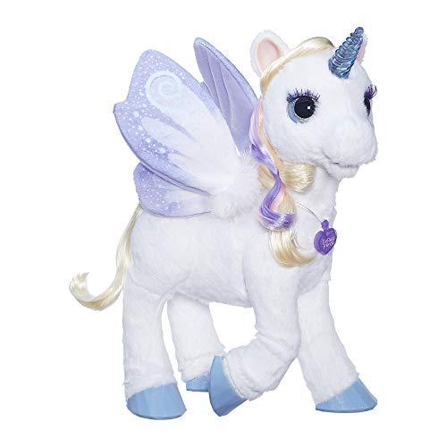 ファーリアルフレンズ ぬいぐるみ 動く 鳴く お世話 furReal StarLily, My Magical Unicorn Interactive Plush Pet Toy, Light-up Horn, Ages 4 and Up(Amazon Exclusive)ファーリアルフレンズ ぬいぐるみ 動く 鳴く お世話