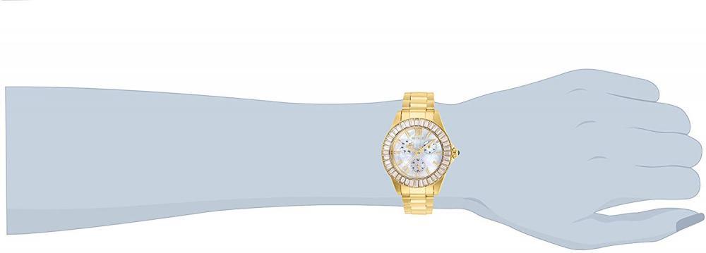 インヴィクタ インビクタ エンジェル 腕時計 レディース Invicta Women's Angel Quartz Watch with Stainless Steel Strap, Gold, 20 (Model: 28452インヴィクタ インビクタ エンジェル 腕時計 レディース