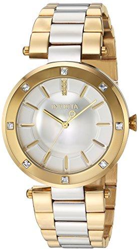 インヴィクタ インビクタ エンジェル 腕時計 レディース Invicta Women's Angel Quartz Watch with Stainless-Steel Strap, Two Tone, 22 (Model: 23725インヴィクタ インビクタ エンジェル 腕時計 レディース