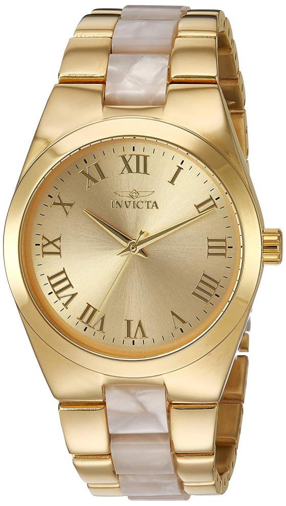 インヴィクタ インビクタ エンジェル 腕時計 レディース Invicta Women's Angel Quartz Watch with Stainless-Steel Strap, Two Tone, 8 (Model: 20481インヴィクタ インビクタ エンジェル 腕時計 レディース