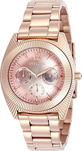 インヴィクタ インビクタ エンジェル 腕時計 レディース Invicta Women's Angel Quartz Watch with Stainless-Steel Strap, Rose Gold, 21 (Model: 23750インヴィクタ インビクタ エンジェル 腕時計 レディース