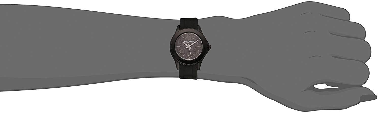 アンクライン 腕時計 レディース Anne Klein Women's AK/3239BKBK Black Silicone Strap Watchアンクライン 腕時計 レディース