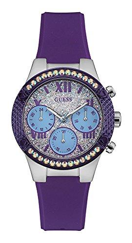 ゲス GUESS 腕時計 レディース Guess Analogue Silver Dial Women's Watch-W0773L4ゲス GUESS 腕時計 レディース