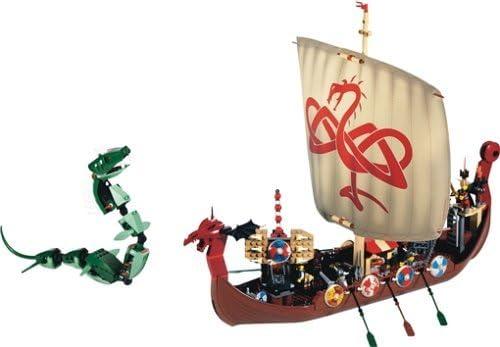 レゴ LEGO Vikings Ship Challenges The Midgard Serpent (7018)レゴ