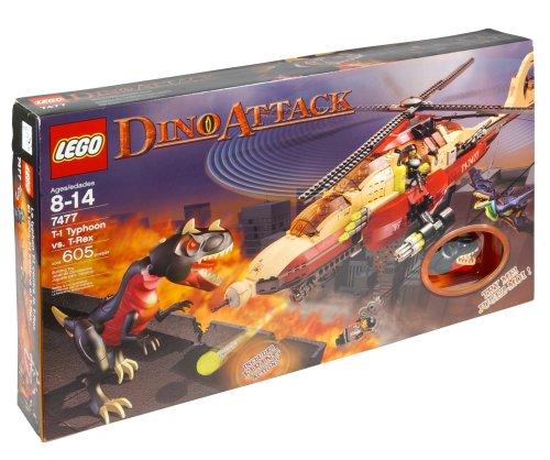 レゴ LEGO Dino Attack T-1 Typhoon vs. T-Rexレゴ