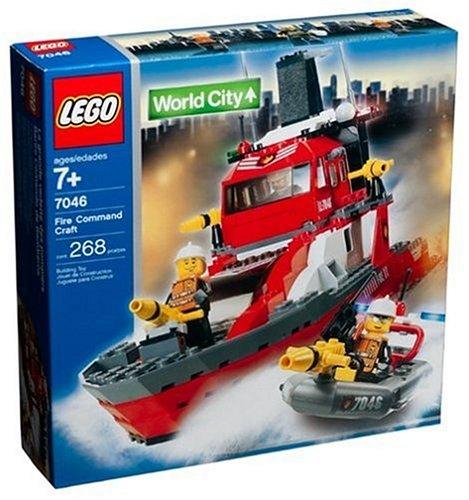 レゴ シティ LEGO City Fire Rescue Fire Command Craft (7046)レゴ シティ