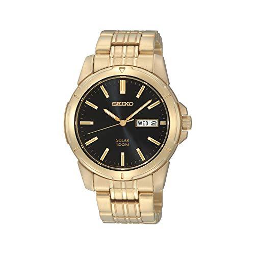 セイコー 腕時計 メンズ Seiko SNE100 Mens Gold Core Solar Watchセイコー 腕時計 メンズ