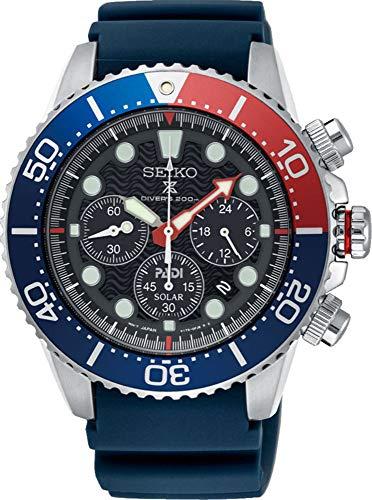 セイコー 腕時計 メンズ 夏のボーナス特集 SEIKO PROSPEX PADI Special Edition Chronograph Solar Diver's 200M Pepsi Bezel SSC663P1セイコー 腕時計 メンズ 夏のボーナス特集