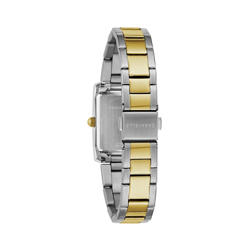ブローバ 腕時計 レディース Caravelle Women's Quartz Watch with Stainless-Steel Strap, Two Tone, 16 (Model: 45L167ブローバ 腕時計 レディース