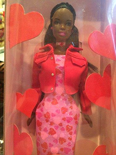 c0c531eefef7a バービー バービー人形 日本未発売 Very Valentine Black Barbie with Pink Heart Dressバービー バービー 人形 日本未発売 無料ラッピングでプレゼントや贈り物にも。