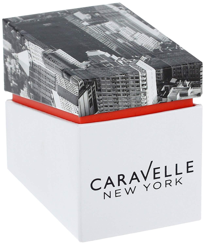 ブローバ 腕時計 レディース Caravelle New York by Bulova Women's 43L176 Watch with White Rubber Bandブローバ 腕時計 レディース